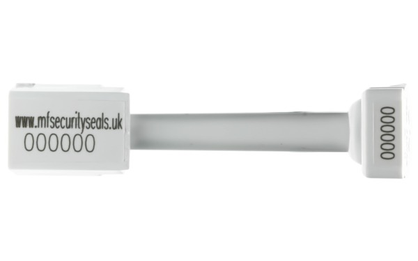 2K Klicker Container Bolt Seal white-closed