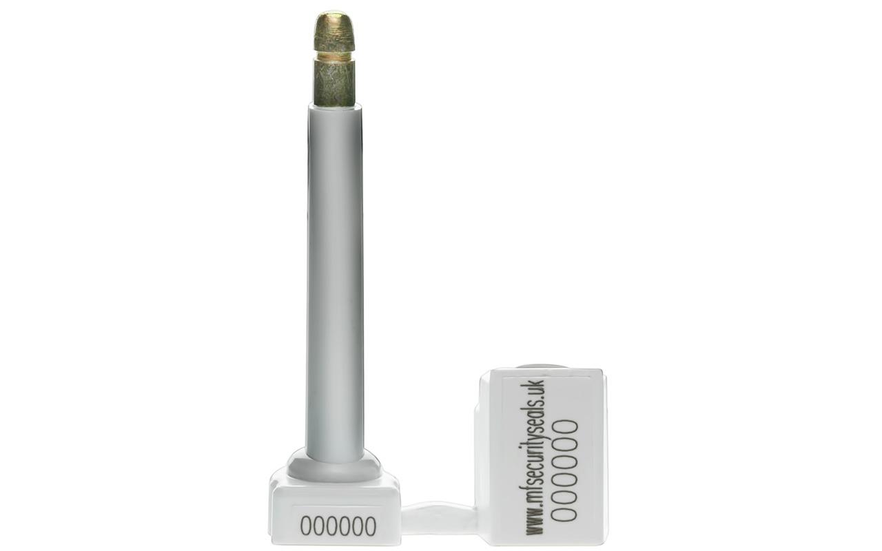 2k Klicker Container Bolt Seal white-open