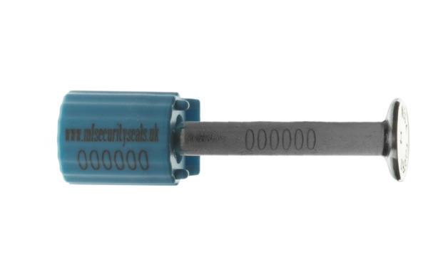 Container Bolt Seal blue-closed
