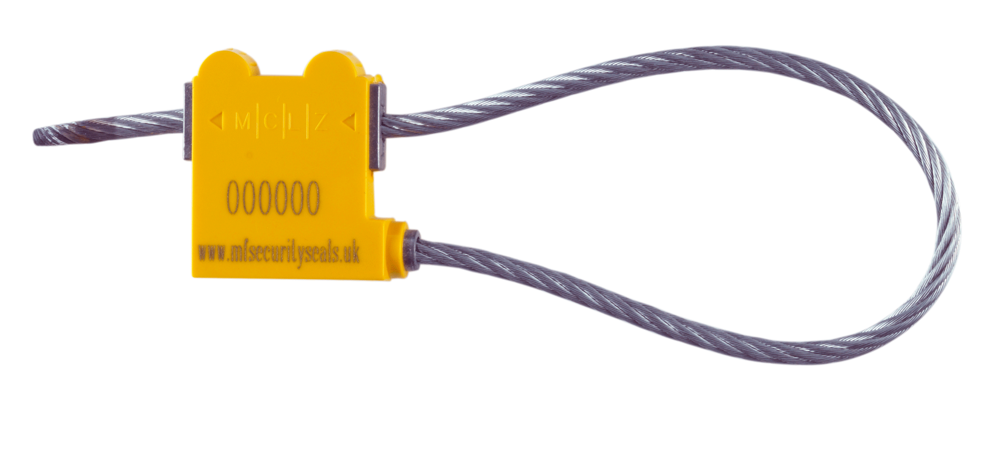 MCLZ 3.5mm Yellow Cable Seal Sealed Banner