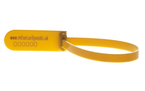 Fleetlock trailer seal yellow-closed